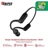 Sniper Bone Conduction Headphone Wireless Sport - BC81