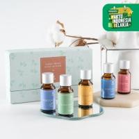 UCHII REFILL AROMA Therapy GIFT SET BOX 5's   Paket Isi Ulang Diffuser