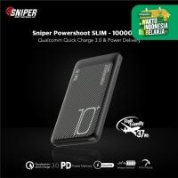 Sniper Powerbank Powershoot SLIM 10000mAh - S411501