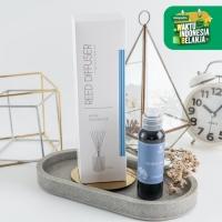 UCHII Reed Diffuser Murasaki   Pewangi Ruangan Aroma Terapi Oil Refill