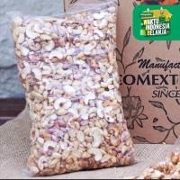 Kacang Mede Mentah Pecah Merah Super 1 Kg - Sulawesi Cashew Mente Mete