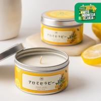 UCHII Aroma Therapy Decorative Canned Candle   Lilin Wangi Sage Citrus