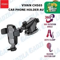 VIVAN CHS05 CAR PHONE HOLDER MOBIL SUCTION CUP AUTO LOCK HP CHS-05