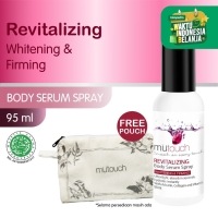 MuTouch Whitening Body Serum Spray Revitalizing 95ml