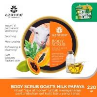Goat's Milk Papaya Whitening Body Scrub