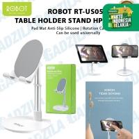 ROBOT RT-US05 TABLE PHONE HOLDER STAND HP MEJA ALUMINIUM ALLOY