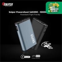 Sniper PowerShoot S40200 - 10000mAh Power Bank