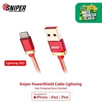 Sniper PowerShield Lightning 3ft/0.9m - RED