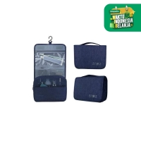 UCHII RYOKO Travel Toiletry Hanging Organizer Pouch Tas Mandi Portable