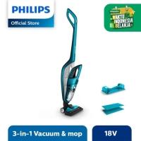Philips Vacuum Cleaner - Vac & Mop Handstick + Handheld FC6404/01