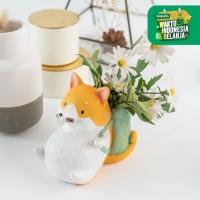 UCHII Ceramic Pot Akita Series Decorative Pajangan Meja Vas Serbaguna