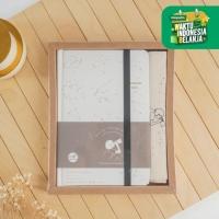 UCHII A5 HOSHI Notebook Gift Box Pouch Set   Buku Catatan Japan Design