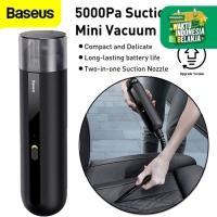 Baseus A2 Mini Vacuum Cleaner Suction Car 5000Pa Penyedot Debu Mobil