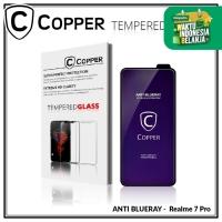 Realme 7 Pro - COPPER Tempered Glass ANTI-BLUERAY (Full Glue)