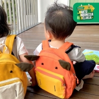 UCHII POKU Bag Kids Backpack   Tas Travel Ransel Kain Anak Sekolah