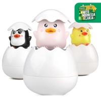 Mainan Mandi Anak Semprotan Telur Animals - Floating Egg Bath Toys