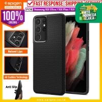 Case Samsung Galaxy S21 Ultra Plus Spigen Liquid Air Softcase Casing