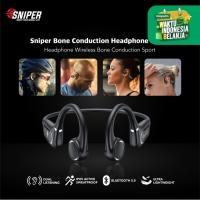 Sniper Bone Conduction Headphone Wireless Sport BC-TF