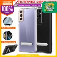 Case Samsung Galaxy S21 Ultra Plus Spigen Ultra Hybrid S Stand Casing