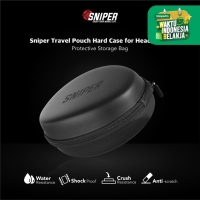 Sniper Travel Pouch Hard Case for Headphones