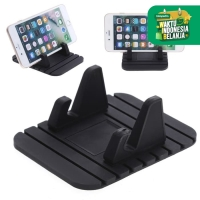 Stand Handphone Anti Slip Car Phone Holder HP Smartphone Mount Mobil S