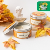 UCHII Aroma Therapy Decorative Canned Candle   Lilin Wangi Autumn Leaf