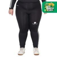Tiento Baselayer Celana Legging Pants Panjang Retro Race Women Jumbo