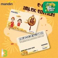 Custom Emoney Imlek 2021 / E-toll Card Mandiri / Chinese New Year 2021