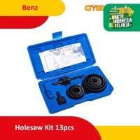 Benz Holesaw Kit Hole Saw Kit Mata Bor Kayu Set 13pcs