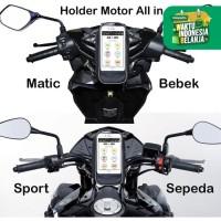 Tas Holder Cover HP Sepeda Motor Gojek Grab Mobil Cover Anti Air AC03