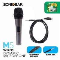 SonicGear Mic M5 Wired Dinamyc Microphone For Speakers/ DVD player