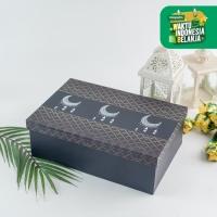 UCHII Exclusive Gift Box Wrap Blue   Kotak Hadiah Bungkus Kado Design
