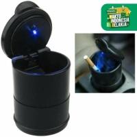 Mini Car Ashtray LED Trash Bin Tong Sampah Kecil Asbak Rokok Mobil