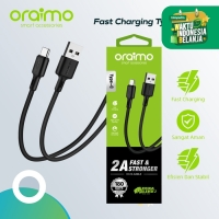 Oraimo Kabel Data Type-C Android USB Cable Fast Charging OCD-C53 - Hitam