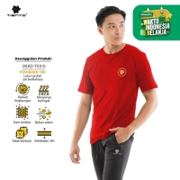 Tiento Kaos T-Shirt Chinese Touch Red Gold Limited Edition Men
