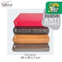 ALAS DUDUK / BANTAL MEDITASI / REBOUNDED FOAM / 45x40x7