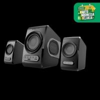 SonicGear Quatro V - USB Powered 2.1 Speaker with FM Radio TFcard slot