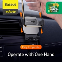 BASEUS CAR HOLDER AIR VENT CUBE GRAVITY MOBILE PHONE CAR MOUNT