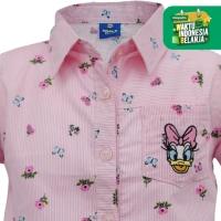Shirt / Kemeja Anak Perempuan / Daisy Duck Hello Summer