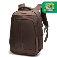 Navy Club Tas Ransel Laptop HBA USB Port Up to 15.6inch-Free Bag Cover