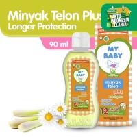MY BABY Minyak Telon Plus Longer Protection 90 ml