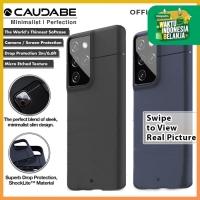 Caudabe Sheath Case Samsung Galaxy S21 Ultra 5G Softcase Soft Casing - S21 Ultra, Black