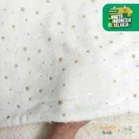 Kintakun Sherpa Foil Baby Blanket 76 x 102 Lembut Super Soft