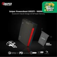 Sniper PowerShoot S111371 - 10000mAh - Flight Friendly Powerbank