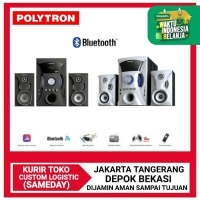 Polytron Multimedia PMA-9505 Bluetooth Speaker Subwoofer Aktif