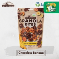 East Bali Cashews - Granola Bites Chocolate Banana 125 gr - Sereal