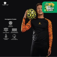 Tiento Baselayer Rashguard Compression Long Sleeve Sumatran Tiger