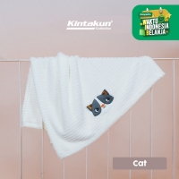 Kintakun Baby Needle Blanket 76 x 102 Lembut Super Soft