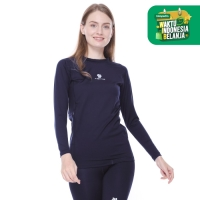 Tiento Baselayer Navy Evolution with Hidden Pocket Women