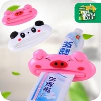Penjepit Odol Karakter Lucu Dispenser Toothpaste - Alat Pencet Odol